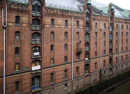Historisches Speichergebäude als Sitz des Spicy's Gewürzmuseum