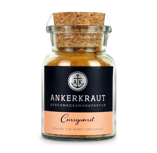 Currysoßen-Gewürz für Currywurst & Co im Korkenglas von Ankerkraut
