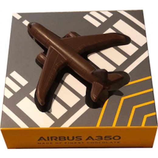 Das Chocion Schokoladenflugzeug: Airbus 350