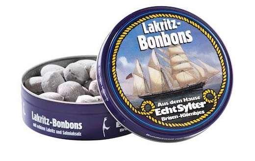 Lakritz Bonbons in der Weißblechdose von Echt Sylter Brisen