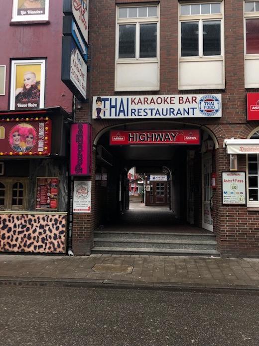 Karaokebar auf dem Hamburger Kiez
