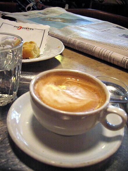 Aus der Kaffeeküche: Eine Wiener Melange