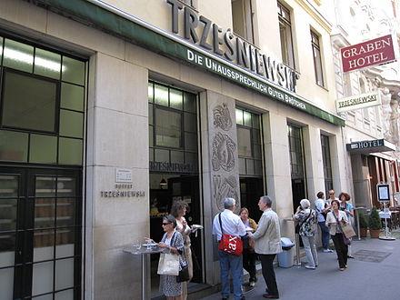 Trześniewski in der Dorotheergasse in Wien